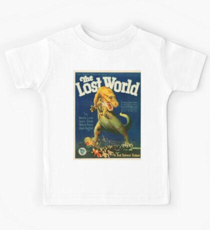 Vintage poster - The Lost World Kids Tee