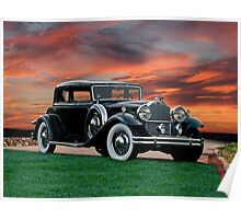 1931 Packard 845 Deluxe Eight Sports Sedan II Poster