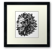 Lion Framed Print