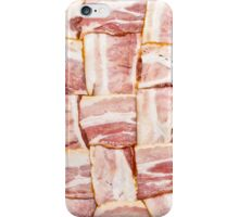 Bacon Weave Mat - Raw iPhone Case/Skin