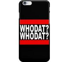 Iggy Azalea - Who dat? iPhone Case/Skin