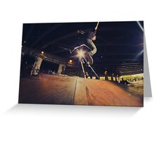 The Skate Files - #1 | Logan Square Skate Park Greeting Card