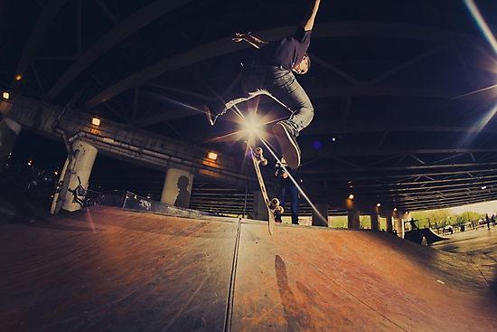 The Skate Files - #1 | Logan Square Skate Park by JAM1PHOTO