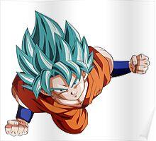 Dragon Ball Z Super Saiyan Goku Poster