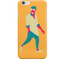 100 Days. Guy with hands in pocket. iPhone Case/Skin