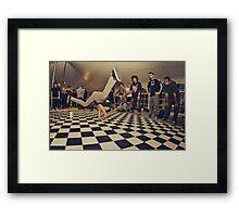 The B-Boy Files - #8 | MOKS 1 | Cypher Smash! Framed Print