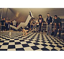 The B-Boy Files - #8 | MOKS 1 | Cypher Smash! Photographic Print