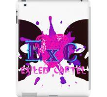 Exiled Cartel Logo - Female Version iPad Case/Skin