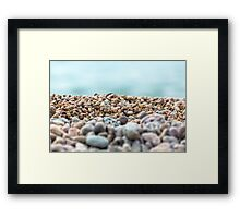 Colorful abstrackt texture background closeup Framed Print