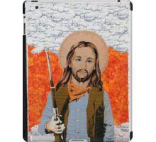JESUS GET YOUR GUN iPad Case/Skin