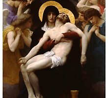 pieta ( william adolphe bouguereau ) by spiceboy