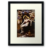 pieta ( william adolphe bouguereau ) Framed Print