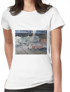 Launceston Castle at Paddington Womens Fitted T-Shirt