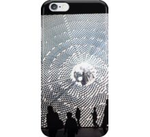 Light Board Display, Lincoln Center, New York City iPhone Case/Skin