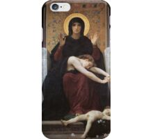 virgin mary ( william adolphe bouguereau ) iPhone Case/Skin