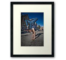 The B-Girl Files #1 | EREN BOOGIE Framed Print