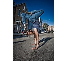 The B-Girl Files #1 | EREN BOOGIE Photographic Print