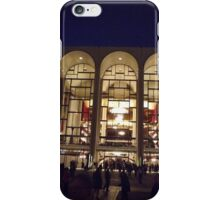 The Classic Architecture of Lincoln Center at Night, New York City  iPhone Case/Skin
