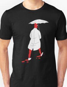 100 Days. Guy with the white umbrella. Unisex T-Shirt