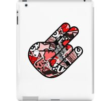 Red Hand iPad Case/Skin