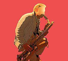 Sax player by Antti Muranen