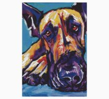 Great Dane Dog Bright colorful pop dog art T-Shirt