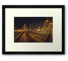 The Chicago Files - #1 | Halsted Rail Yard Framed Print