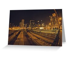 The Chicago Files - #1 | Halsted Rail Yard Greeting Card