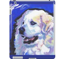 Great Pyrenees Mountain Dog Bright colorful pop dog art iPad Case/Skin