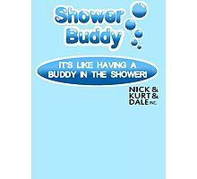 Shower Buddy Photographic Print