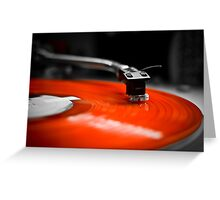 Needle to the Record | TURNTABLISM Greeting Card