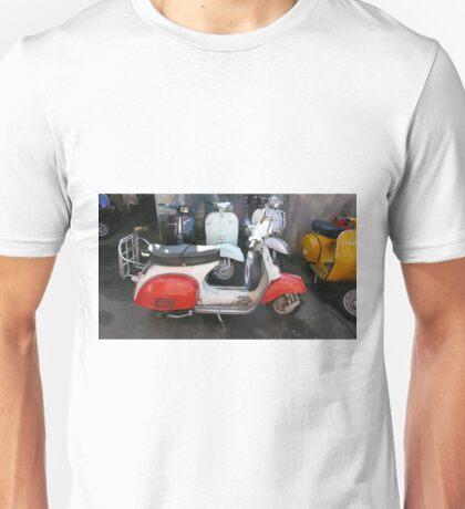 MODS RETROSPECTIVE SCOOTERS Unisex T-Shirt