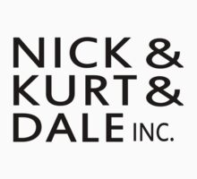 Nick & Kurt & Dale INC. by KingofTheRats