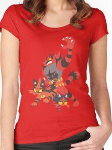 Litten Evolution Women's Fitted Scoop T-Shirt
