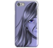 The misterious eyed girl iPhone Case/Skin