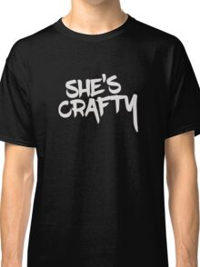 She's Crafty Classic T-Shirt