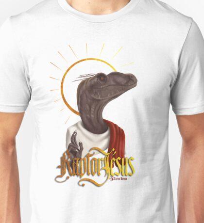 Raptor Jesus Unisex T-Shirt