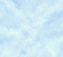 Cloudy Blue Ripples by lolohannah