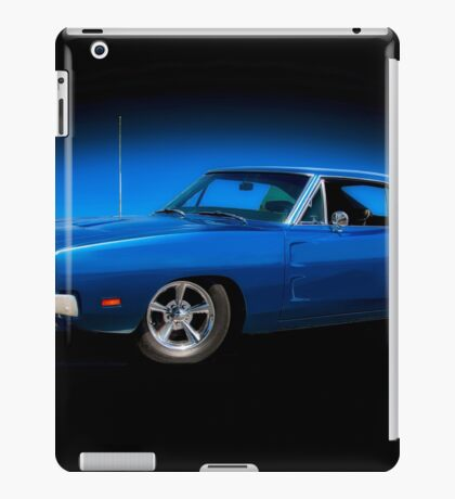 1969 Dodge Charger RT 'Road and Track' iPad Case/Skin