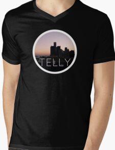 City Scape Mens V-Neck T-Shirt