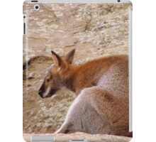 Leaning Wallaby iPad Case/Skin
