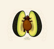 Avocado Anatomy by mykowu