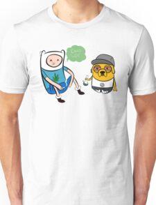Adventure Time - Finn and Jake high Unisex T-Shirt