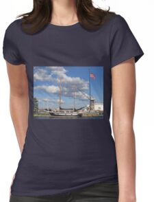 Let's Sail!  Womens Fitted T-Shirt