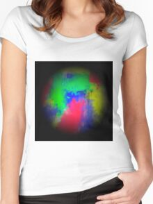 Abstract 151 Women's Fitted Scoop T-Shirt