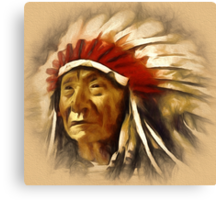 CHIEFTAIN Canvas Print