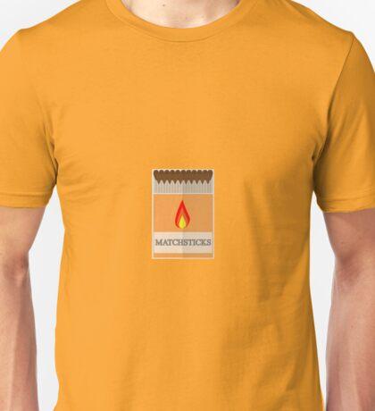 Box of matchsticks Unisex T-Shirt