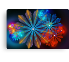 A Breath of Floral Canvas Print