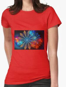 A Breath of Floral Womens Fitted T-Shirt