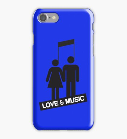 Love and music iPhone Case/Skin